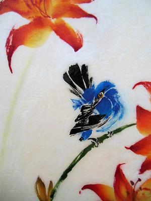 Bluebird Preeningweb