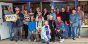 The artists of Ptarmigan Arts Gallery